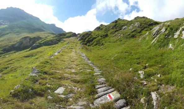 Wanderweg Splügenpass