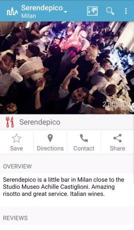 Triposo App Mailand