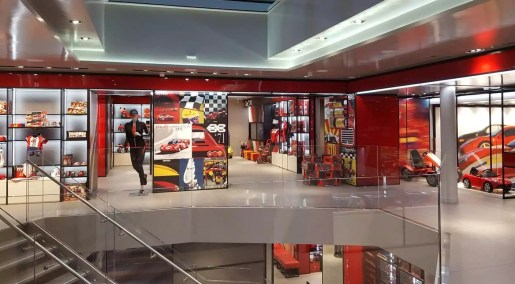 Ferrari Flagship Store Mailand