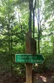 Wandern mit Kind im Müllerthal, Luxemburg