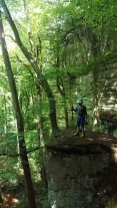 Wandern mit Kind Luxemburg Berdorf