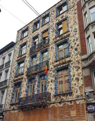 Fassade Brüssel