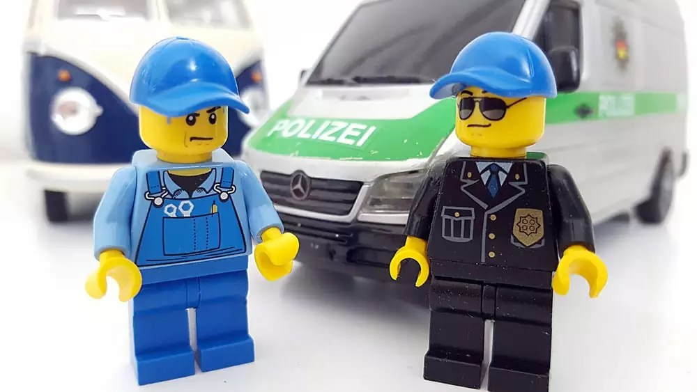Freistehen in Belgien und unsere Begegnung mit der Polizei