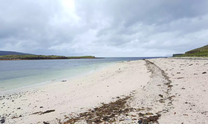 "Roadtrip Schottland - Isle of Skye: Strand ""Coral Beach"""
