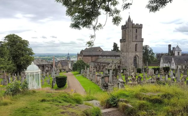 Holy Rude - Kirche mit Friedhof am Stirling Castle
