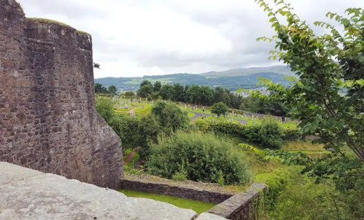 Blick vom Stirling Castle Schottland