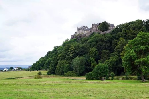 Fotospot Stirling Castle: KThe Kings Knot Royal Graden