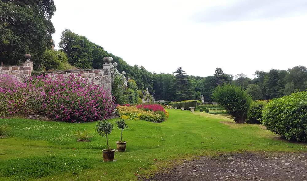 Dunrobin Castle Schlossgarten