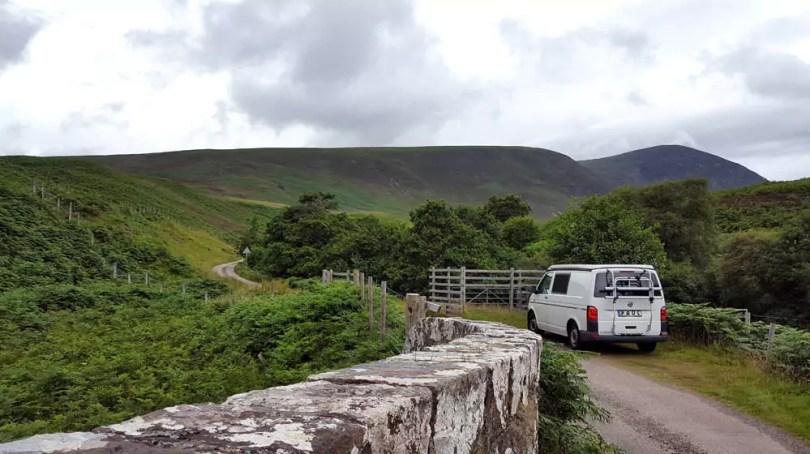 Roadtrip durch die Highlands - mit dem VW-Bus durch Schottland