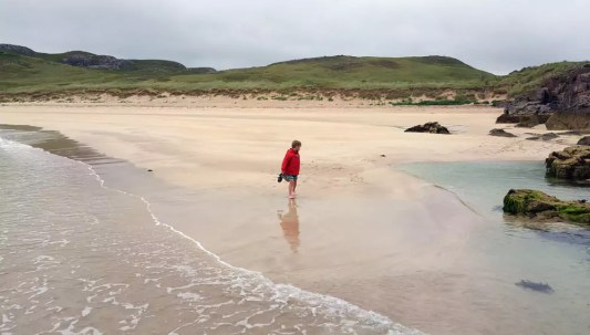 Roadtrip Schottland mit Kind Oldshoremore