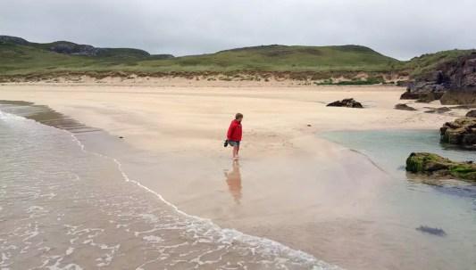 Roadtrip Schottland mit Kind Oldshoremore