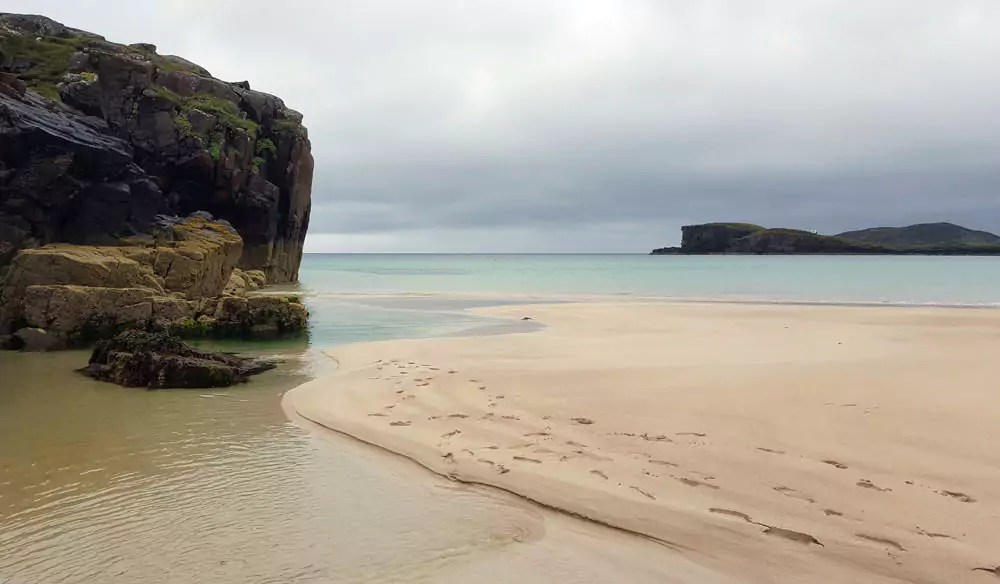 Traumhafter Strand Oldshoremore