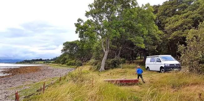 Reiseinspiration: Schottland mit Campervan