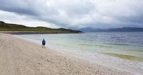 Coral Beach - Ausflug mit Kind auf der Isle of Skye