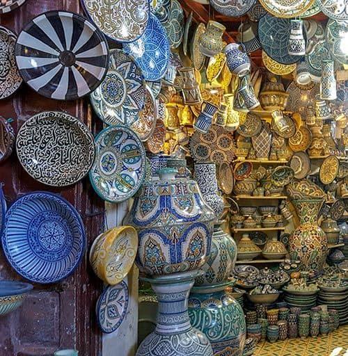 Shoppen in Marrakesch