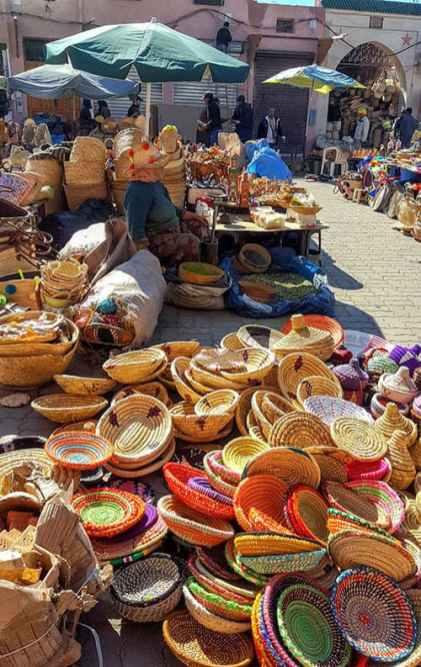 Marrakesch-Markt-