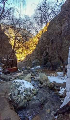 Wandertour zu den Wasserfällen in Sets Fatma mit Kinde - meine Erfahrungen