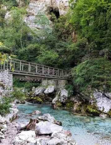 Tolminer Klammen Triglav Nationalpark Slowenien