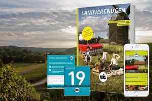 Naturnah und kostenlos stehen in Deutschland mit dem Landvergnügen Stellplatzführer