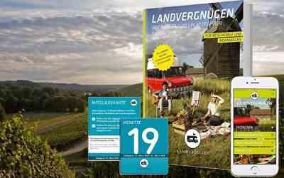 Der Landvergnügen Stellplatzführer 2019 ist da!