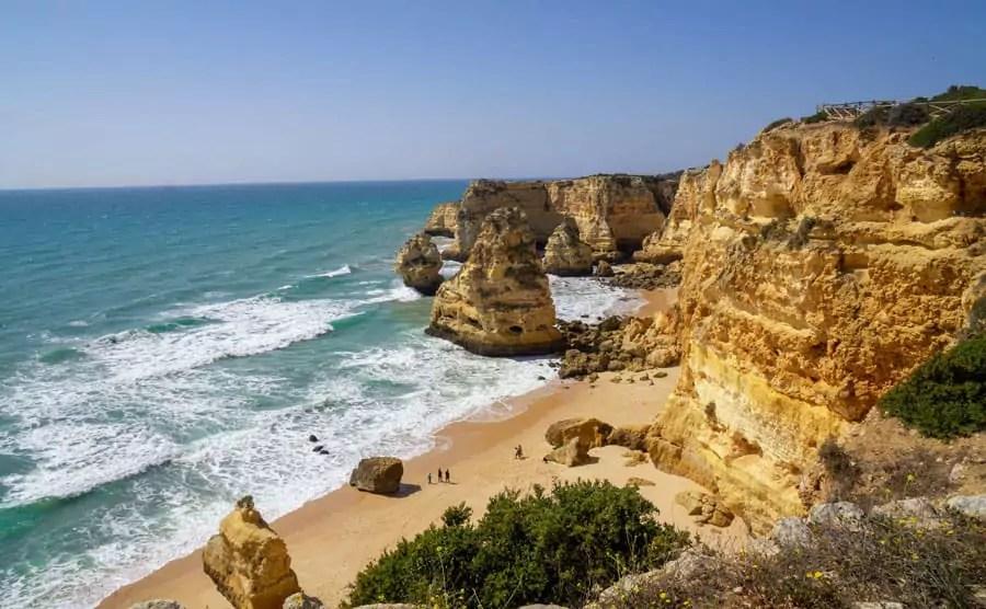 Schöne Strände Algarve: Praia da Marina