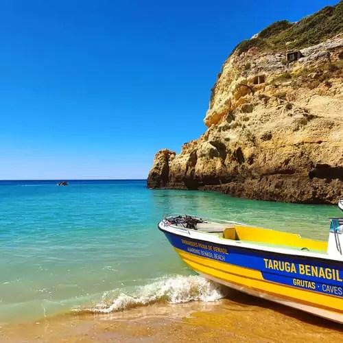 Strände an der Algarve - Benagil
