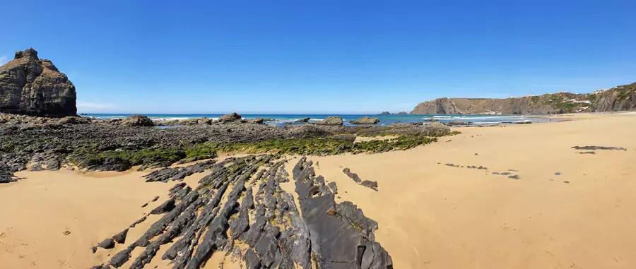 Strände der Algarve., Portugal: Praia da Arrifana