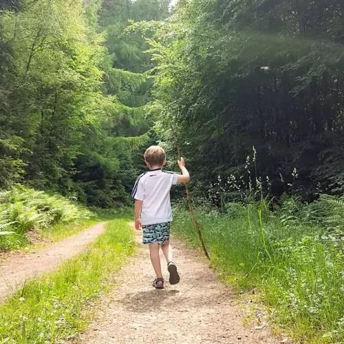 Wandern mit Kind im bergischen Land