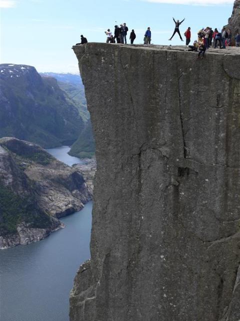 Felskanzel, Norwegen