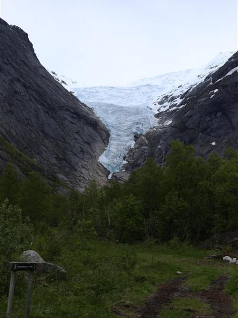 Briksdalbree Glacier