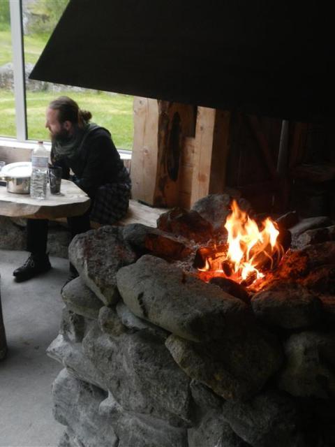 Campingplatz Melkevoll Bretun Hütte