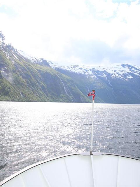 Schifffahrt durch den Geirangerfjord