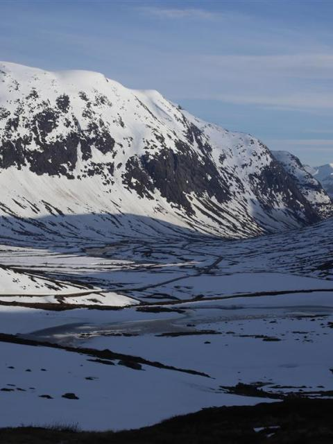 Landscape Snow Norway