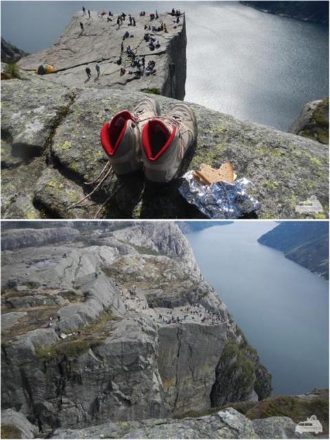 Landscape Norway Preikestolen