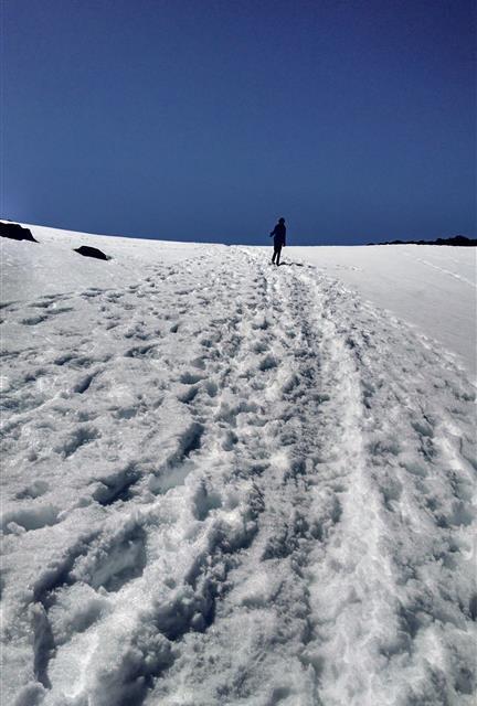 Norwegen im Schnee