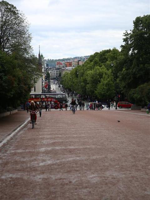 Oslo Fußgängerzone