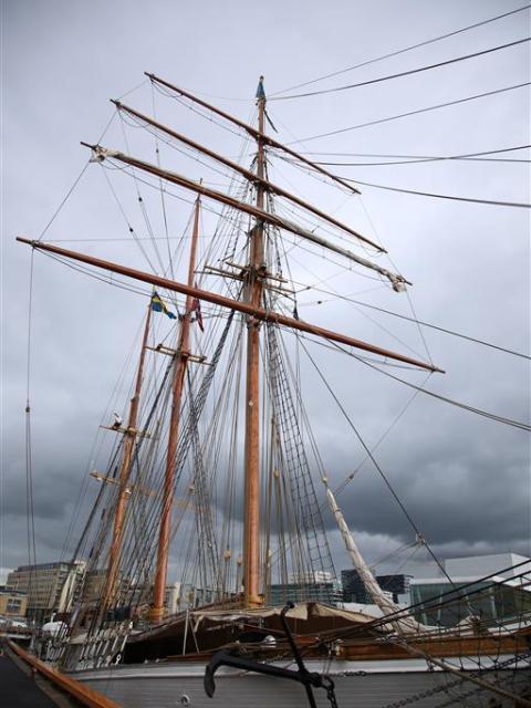 Schiff in Oslo
