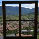 Fensterrahmen in der Natur