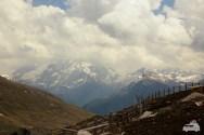 Panoramablick von der Seiser Alm