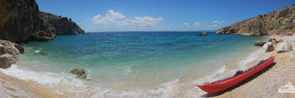 Eine Bucht wie aus dem Bilderbuch