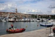 Der Hafen in Krk