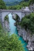 Die Brücke in Kobarid