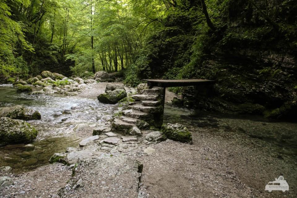 Wanderung in Slowenien