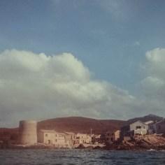 Blick vom Meer Cap Corse