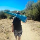 Der Weg zum Plage de Àrone