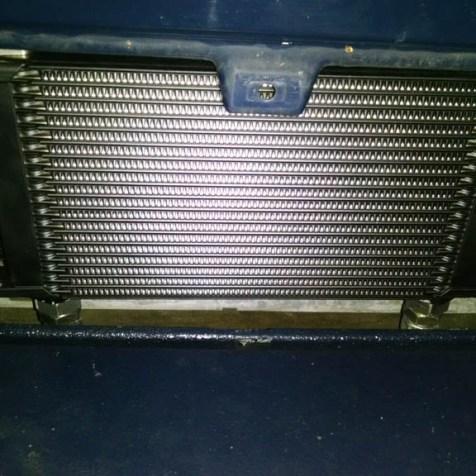 Ölkühler vor Wasserkühler im VW T3