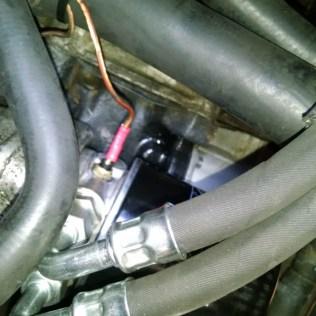 Ölkühler Thermostat