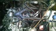 VW T3 JX Motor mit Ölkühler Draufsicht