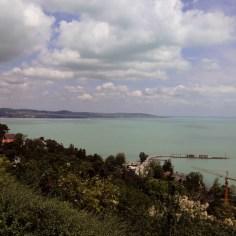 Blick von Tihany auf den Balaton