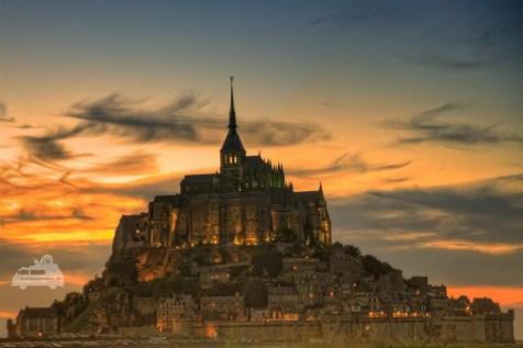 Le Mont Saint Michel in Frankreich